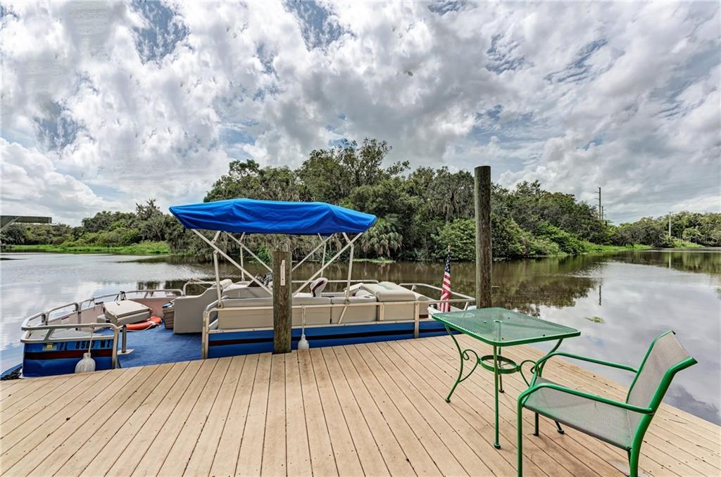 Relax on your boat deck - Single Family Home for sale at 7118 68th Dr E, Bradenton, FL 34203 - MLS Number is A4480398