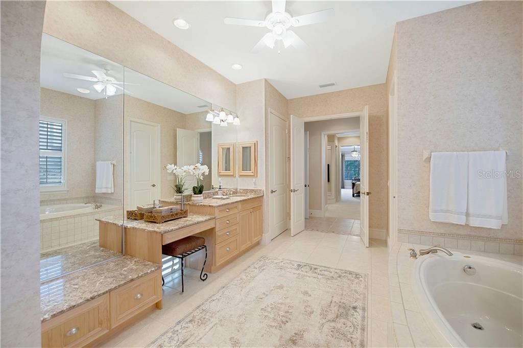 Light and bright with large mirrors and a makeup vanity - Single Family Home for sale at 13223 Palmers Creek Ter, Lakewood Ranch, FL 34202 - MLS Number is A4484826