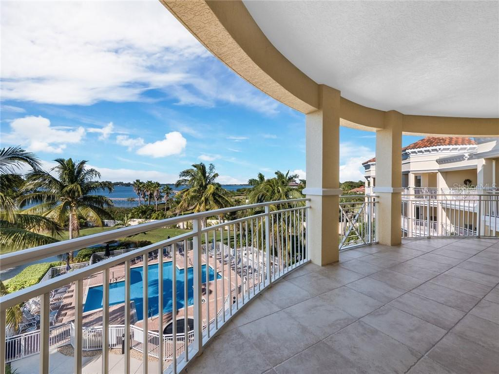 A entertainers dream with endless water views. - Condo for sale at 14021 Bellagio Way #407, Osprey, FL 34229 - MLS Number is A4487552