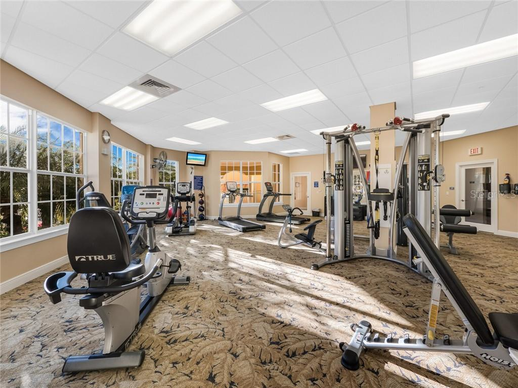 Fitness area with jacuzzi and spa. - Condo for sale at 14021 Bellagio Way #407, Osprey, FL 34229 - MLS Number is A4487552