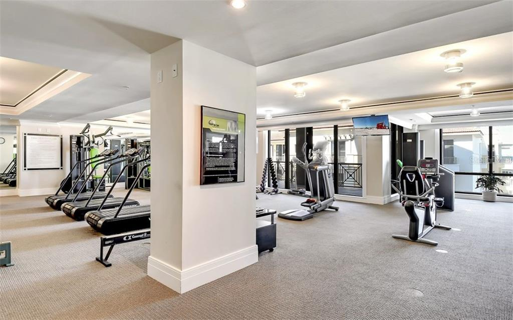 Fitness Center - Condo for sale at 50 Central Ave #14b, Sarasota, FL 34236 - MLS Number is A4487974