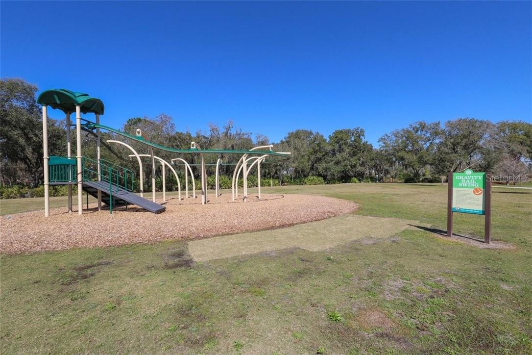 Play equipment. - Single Family Home for sale at 11713 Blue Hill Trl, Bradenton, FL 34211 - MLS Number is A4490622