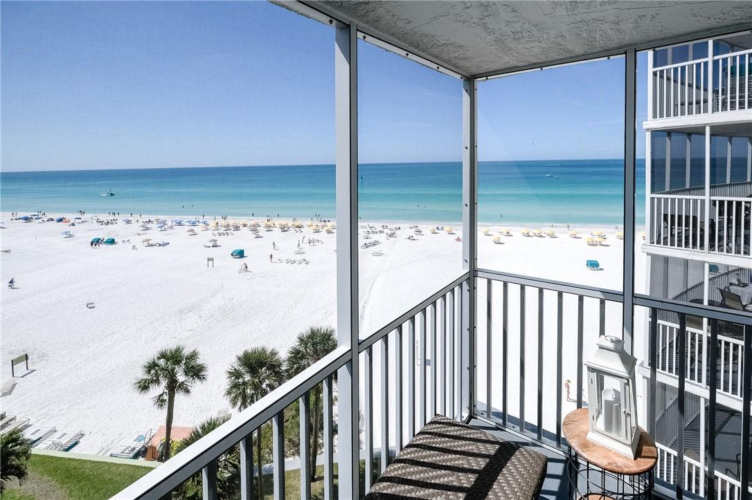 Screened Balcony - Beach Views - Condo for sale at 6300 Midnight Pass Rd #701, Sarasota, FL 34242 - MLS Number is A4496847