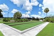 Stoneybrook Golf & Country Club's brand new bocci courts. - Single Family Home for sale at 8753 Merion Ave, Sarasota, FL 34238 - MLS Number is A4165409