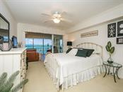Bedroom 2 with sliders to balcony - Condo for sale at 4708 Ocean Blvd #e8, Sarasota, FL 34242 - MLS Number is A4184028