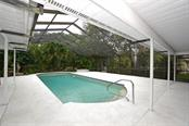 Enjoy morning laps in this 13x35, 9' deep, pool.  A rare find. - Single Family Home for sale at 1157 Wyeth Dr, Nokomis, FL 34275 - MLS Number is A4185839