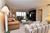 Living room - Condo for sale at 5855 Midnight Pass Rd #628, Sarasota, FL 34242 - MLS Number is A4190416