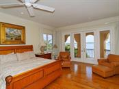 Upstairs Master bedroom - Single Family Home for sale at 8233 Midnight Pass Rd, Sarasota, FL 34242 - MLS Number is A4198436