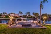 Canal views at dusk - Single Family Home for sale at 5439 Azure Way, Sarasota, FL 34242 - MLS Number is A4203969