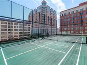 Private pickleball court located on the amenities level. - Condo for sale at 1301 Main St #1001, Sarasota, FL 34236 - MLS Number is A4402790