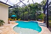 Private pool area. - Single Family Home for sale at 8139 37th Avenue Cir W, Bradenton, FL 34209 - MLS Number is A4404272