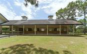 Six 12'x12' stables, complete with electric and water in each stable, and incredible easy access to the pastures! - Single Family Home for sale at 7866 Saddle Creek Trl, Sarasota, FL 34241 - MLS Number is A4407172