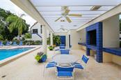 Patio Area & Gas Grille - Condo for sale at 1910 Harbourside Dr #503, Longboat Key, FL 34228 - MLS Number is A4409634