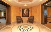 Lobby area. - Condo for sale at 464 Golden Gate Pt #701, Sarasota, FL 34236 - MLS Number is A4422622