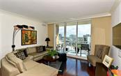 A beautiful living area - Condo for sale at 1350 Main St #1201, Sarasota, FL 34236 - MLS Number is A4427507