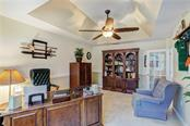 Beautiful huge study/library/living/play room with paneled glass door entry - Single Family Home for sale at 6321 W Glen Abbey Ln E, Bradenton, FL 34202 - MLS Number is A4429610