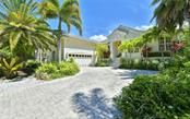 Lush tropical landscaping - Single Family Home for sale at 3525 White Ln, Sarasota, FL 34242 - MLS Number is A4433441