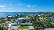 Aerial view with bay waters - Single Family Home for sale at 602 Baronet Ln, Holmes Beach, FL 34217 - MLS Number is A4447974
