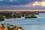 Actual view from terrace, facing south onto Harbor Acres. - Condo for sale at 500 S Palm Ave #91, Sarasota, FL 34236 - MLS Number is A4454405