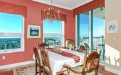 Dining room - Condo for sale at 1771 Ringling Blvd #ph305, Sarasota, FL 34236 - MLS Number is A4455755