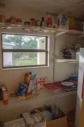 WALK IN PANTRY - Single Family Home for sale at 4828 Greenleaf Rd, Sarasota, FL 34233 - MLS Number is A4456695