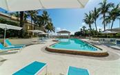 A large pool ready for laps - Condo for sale at 100 Central Ave #A401, Sarasota, FL 34236 - MLS Number is A4463296