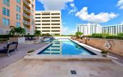 72' lap pool - Condo for sale at 1350 Main St #701, Sarasota, FL 34236 - MLS Number is A4472236