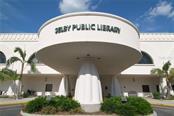 Selby Public Library in downtown Sarasota is a unique city building, with many thousands of great books! - Single Family Home for sale at 1807 Oleander St, Sarasota, FL 34239 - MLS Number is A4475067