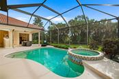 Extra large lanai with private, tranquil living - Single Family Home for sale at 684 Crane Prairie Way, Osprey, FL 34229 - MLS Number is A4478575