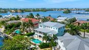 Elevated view of Bimini Bay. - Single Family Home for sale at 718 Key Royale Dr, Holmes Beach, FL 34217 - MLS Number is A4480381