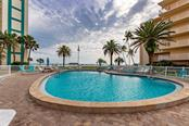 Beach side Pool. 1 of 3 heated pools - Condo for sale at 5830 Midnight Pass Rd #303, Sarasota, FL 34242 - MLS Number is A4481917