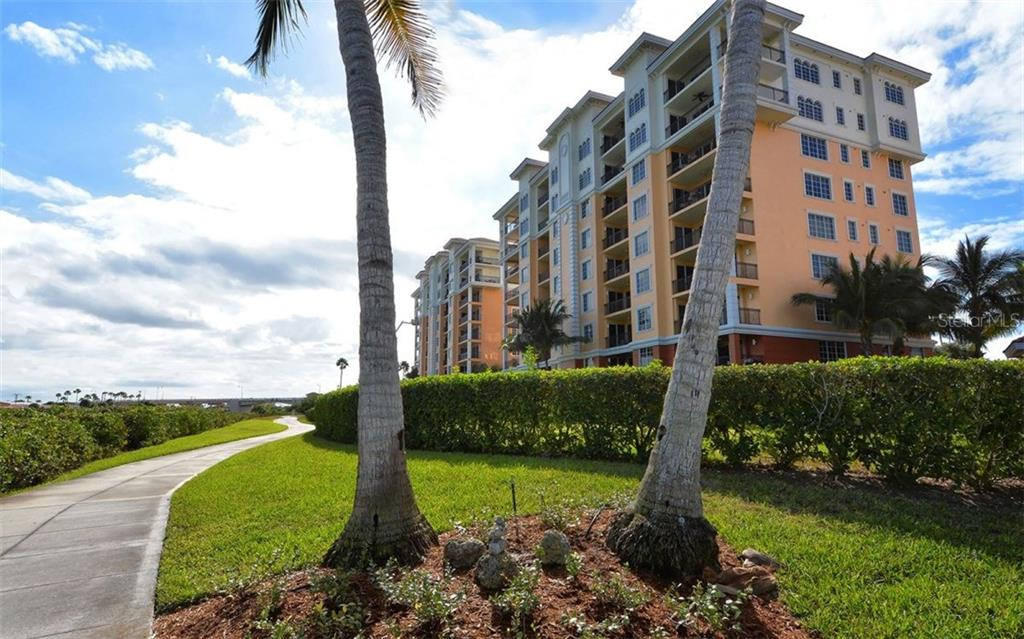 Walking/Bike Path - Condo for sale at 167 Tampa Ave E #513, Venice, FL 34285 - MLS Number is N5911190
