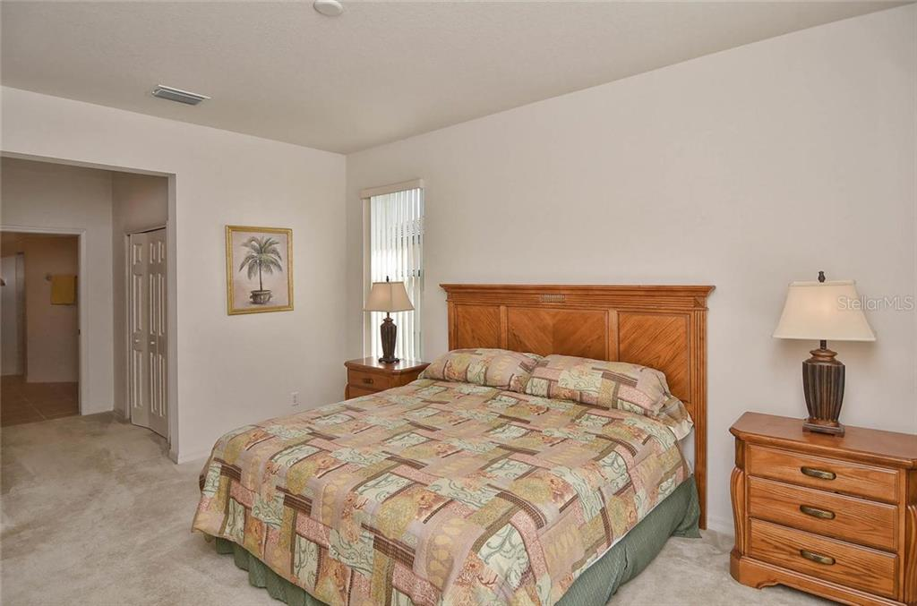 Master bedroom - Single Family Home for sale at 1975 Batello Dr, Venice, FL 34292 - MLS Number is N5911919