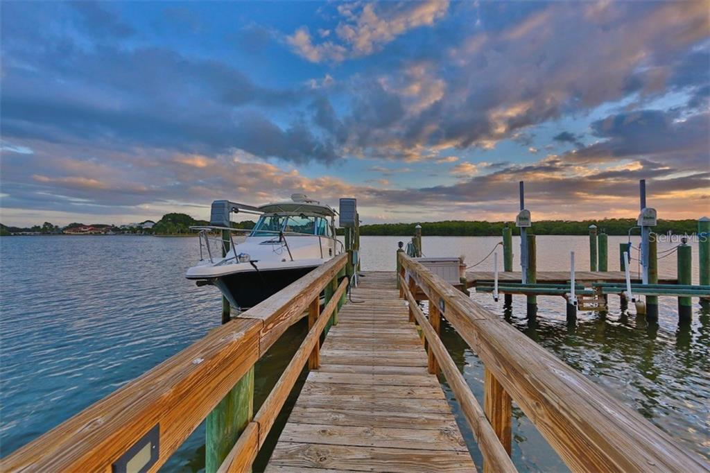 Dock/Lift - Single Family Home for sale at 419 Bayview Pkwy, Nokomis, FL 34275 - MLS Number is N5913189