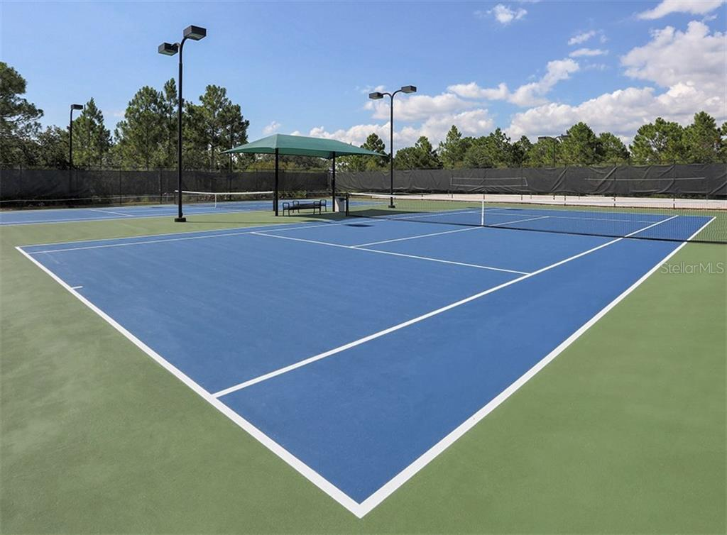 Tennis courts - Single Family Home for sale at 11759 Puma Path, Venice, FL 34292 - MLS Number is N5913611