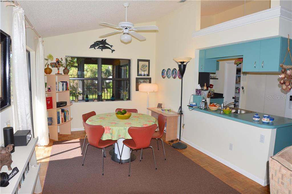 Dining room/kitchen - Single Family Home for sale at 1649 Manor Rd, Englewood, FL 34223 - MLS Number is N5914466