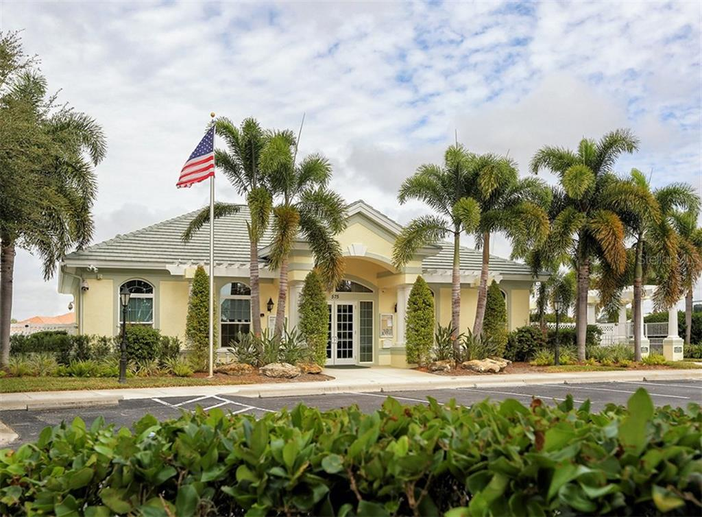 Community clubhouse - Single Family Home for sale at 866 Wood Sorrel Ln, Venice, FL 34293 - MLS Number is N5915362