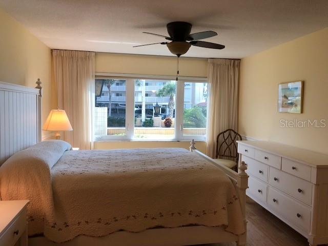 Master Bedroom with a coastal feel. - Condo for sale at 500 The Esplanade N #102, Venice, FL 34285 - MLS Number is N5915924