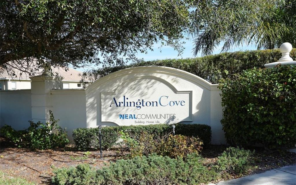 Arlington Cove Entrance - Villa for sale at 10889 Lerwick Cir, Englewood, FL 34223 - MLS Number is N5916198
