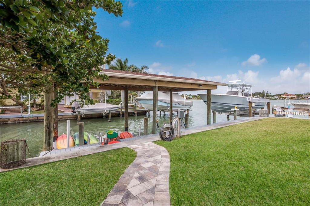 Dock - Single Family Home for sale at 412 Sunrise Dr, Nokomis, FL 34275 - MLS Number is N5916248
