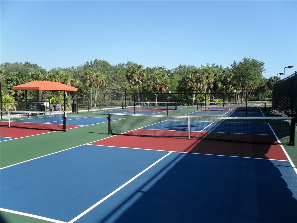 Pickle Ball Courts. - Villa for sale at 10731 Trophy Dr, Englewood, FL 34223 - MLS Number is N6100149