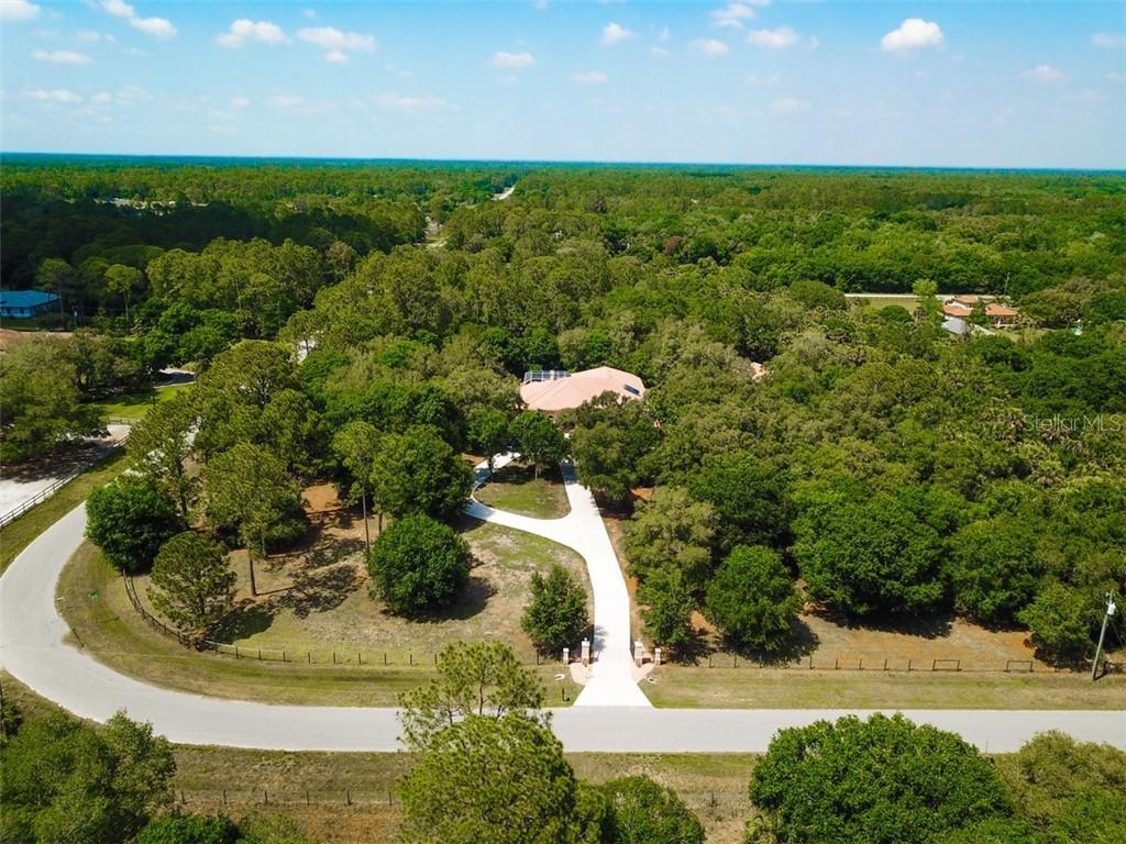 Aerial - Single Family Home for sale at 5515 Reisterstown Rd, North Port, FL 34291 - MLS Number is N6100346