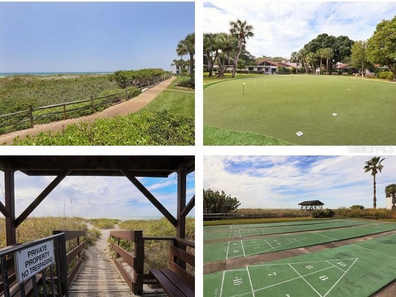 Aldea Mar  Amenities, walking paths, beach access, putting green, shuffle board courts & more. - Condo for sale at 500 Park Blvd S #67, Venice, FL 34285 - MLS Number is N6100360