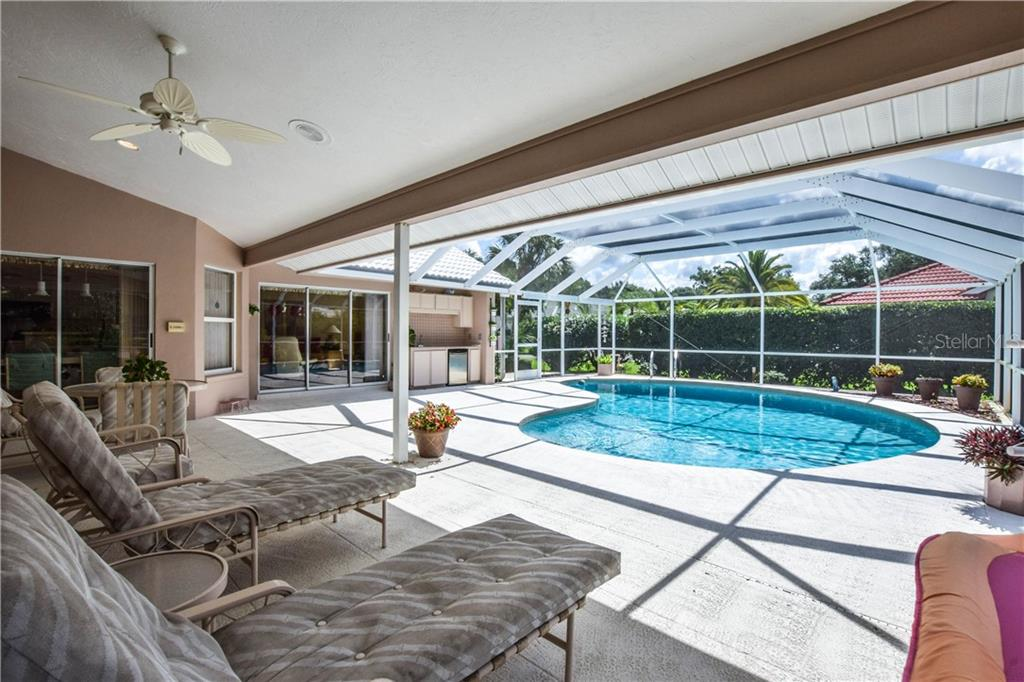 Swimming Pool. - Single Family Home for sale at 837 Carnoustie Dr, Venice, FL 34293 - MLS Number is N6101166