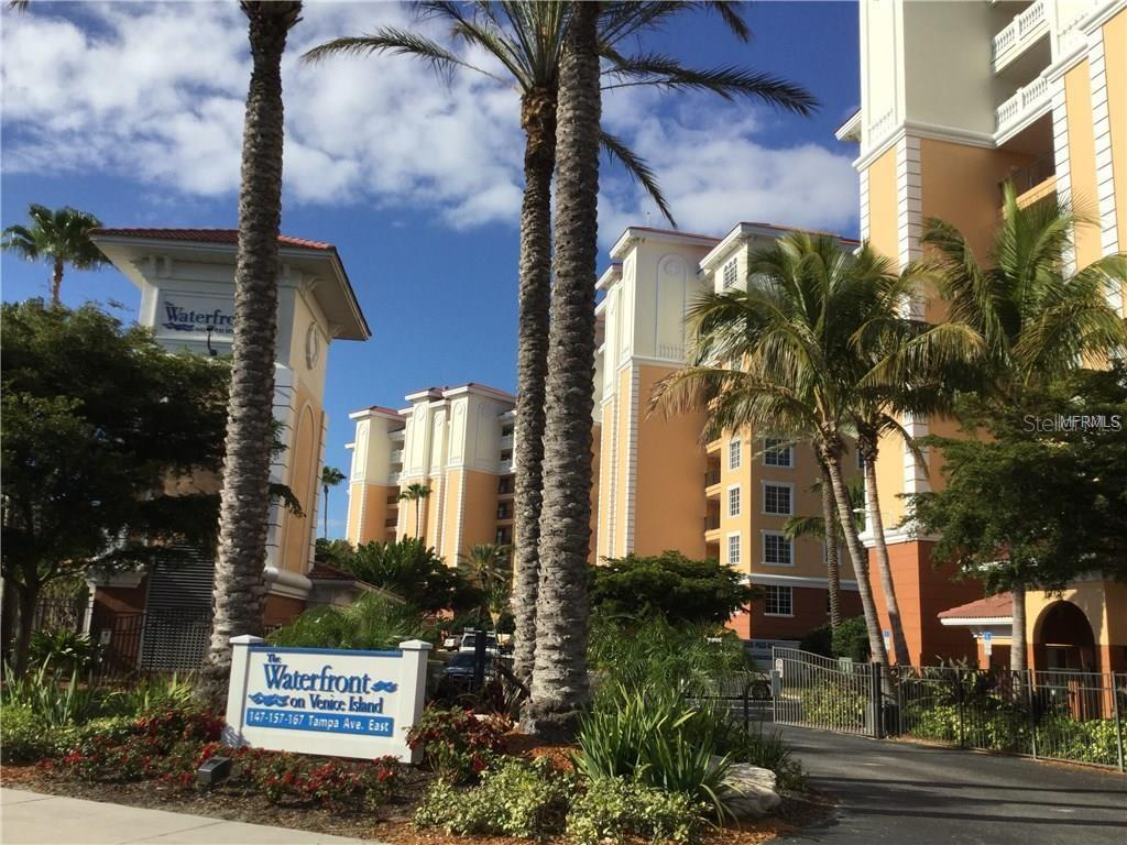 Middle Building 4th floor ..Parking entry gated as well as entrance to building elevator - Condo for sale at 157 Tampa Ave E #407, Venice, FL 34285 - MLS Number is N6101715