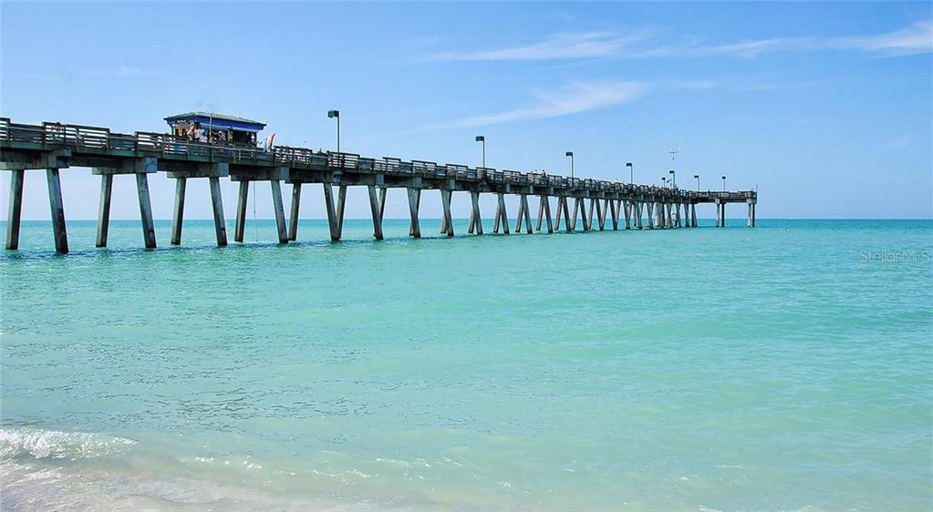 Fishing Pier at Sharkey's Restaurant. - Single Family Home for sale at 316 Alba St E, Venice, FL 34285 - MLS Number is N6102095