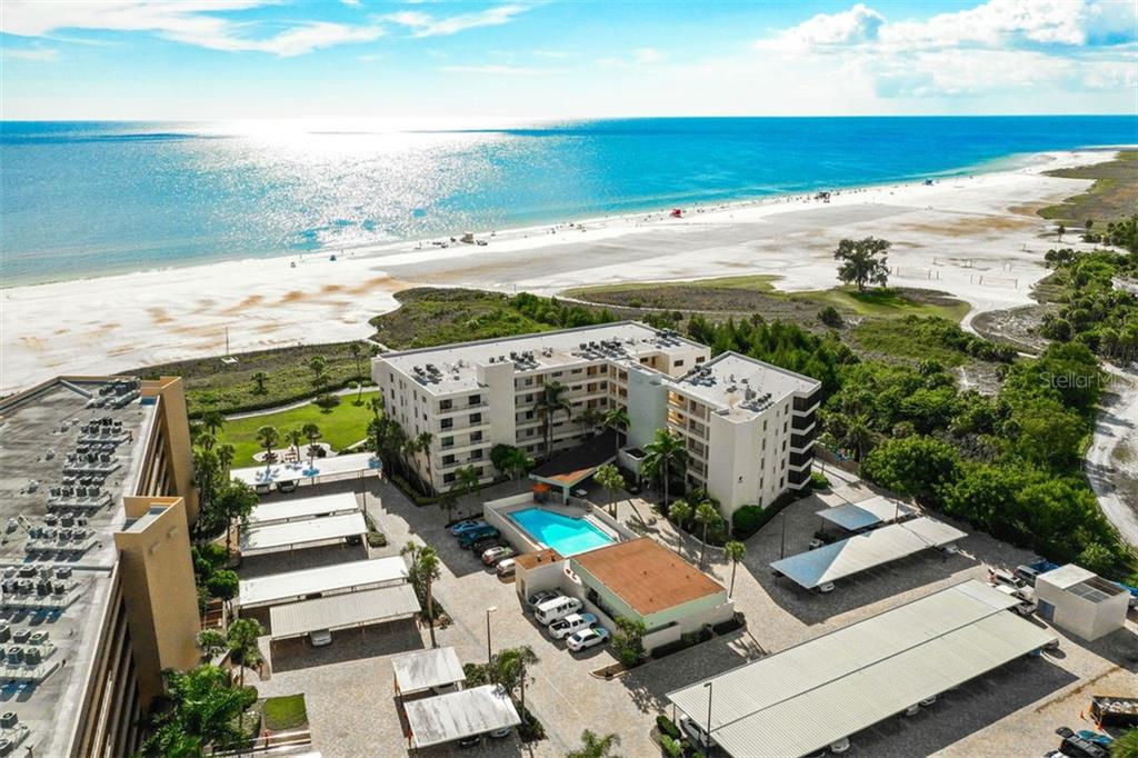 GORGEOUS WATER VIEW FROM THE 5TH FLOOR - Condo for sale at 5740 Midnight Pass Rd #505 F, Sarasota, FL 34242 - MLS Number is N6102195