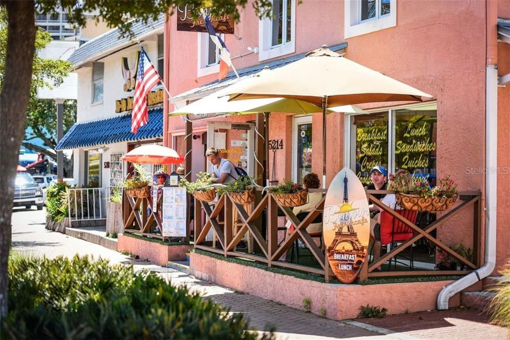 LOTS OF QUAINT LITTLE SHOPS IN THE VILLAGE - Condo for sale at 5740 Midnight Pass Rd #505 F, Sarasota, FL 34242 - MLS Number is N6102195