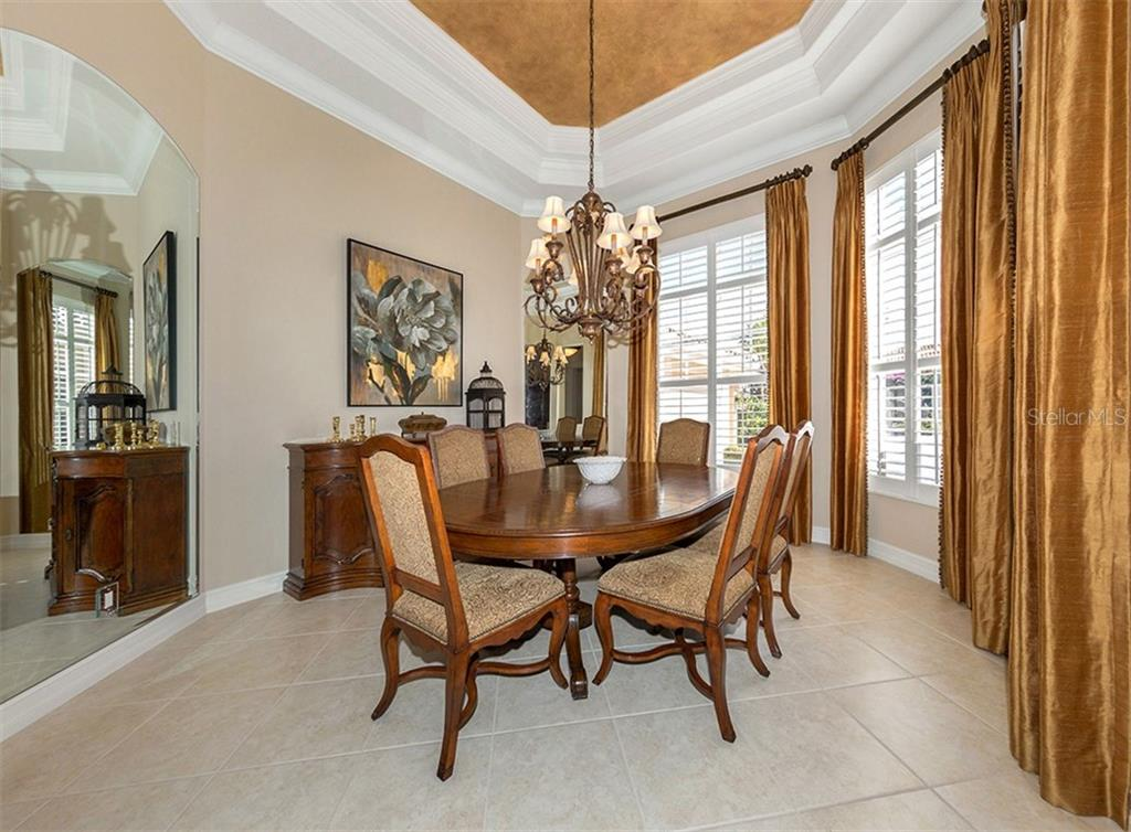 Dining room - Single Family Home for sale at 110 Martellago Dr, North Venice, FL 34275 - MLS Number is N6103159