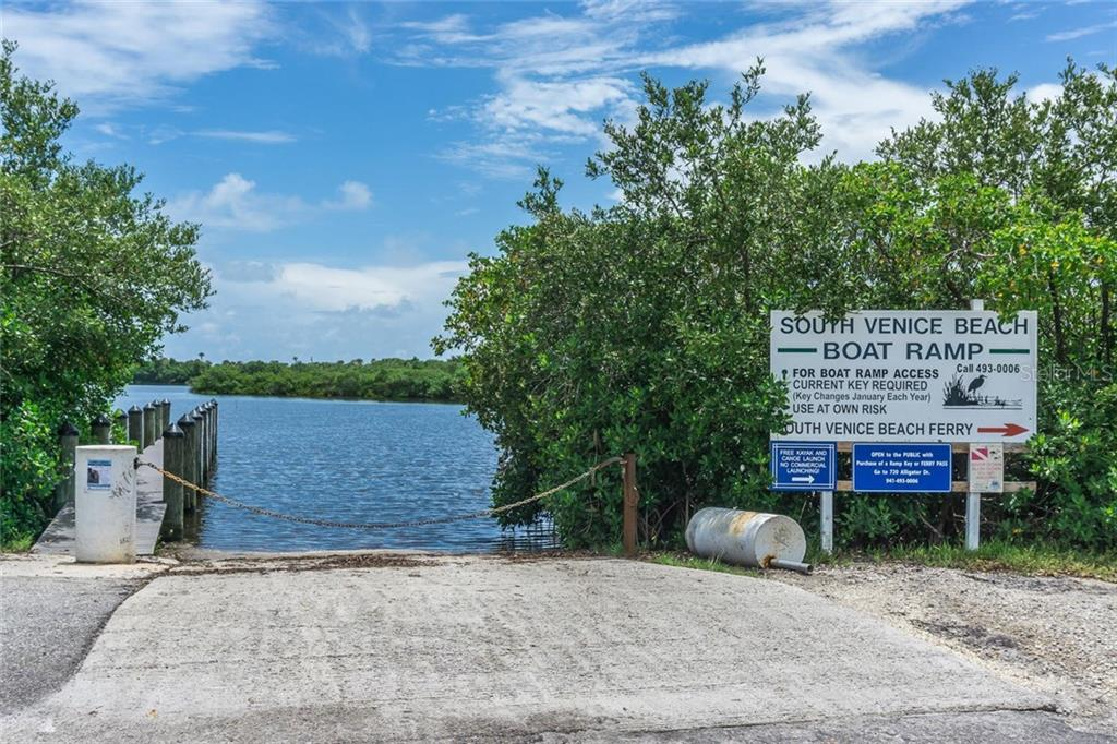 South Venice Boat Ramp. - Single Family Home for sale at 3656 Clematis Rd, Venice, FL 34293 - MLS Number is N6103558